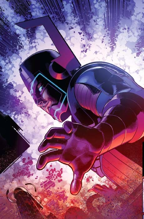 Brian Bendis unleashes the Marvel Universe 616 Galactus on the Ultimate Universe.