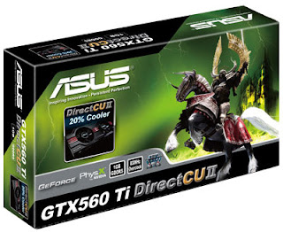Nvidia Geforce GTX 560 graphics card box image