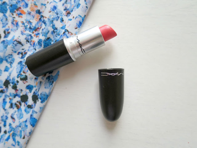 Beauty Perfect Lipstick MAC Lustre Peach Coral Cut a Caper
