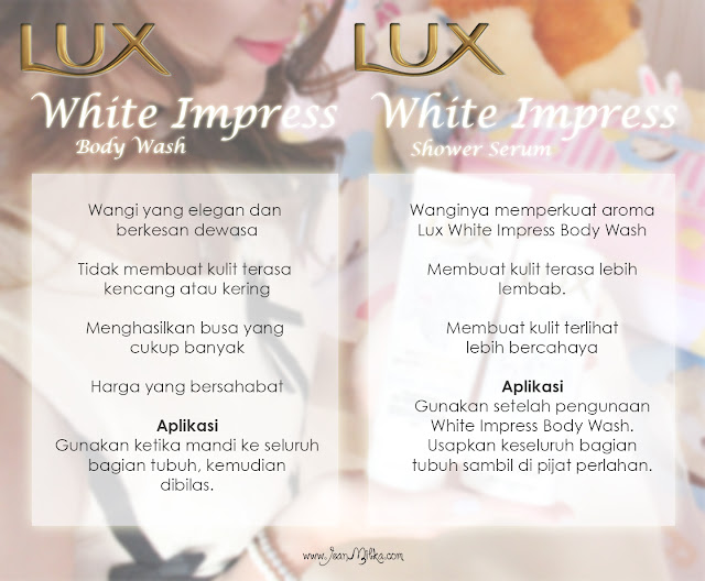 lux, white impress, review, beauty blog