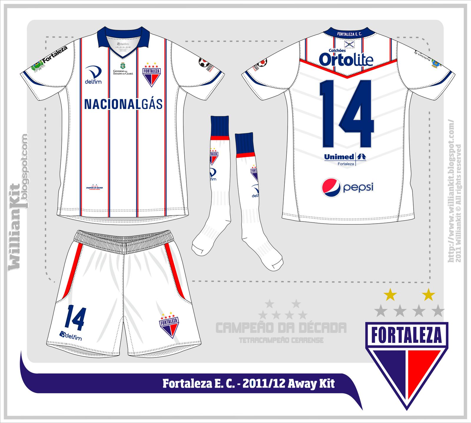 4fd55cfd22 E se fosse assim - Fortaleza Esporte Clube (CE) - Show de Camisas