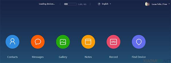 Mi Cloud - Armazenamentode arquivos e fotos na nuvem da Xiaomi
