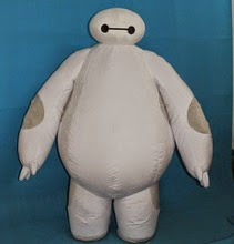 kostum baymax big six hero