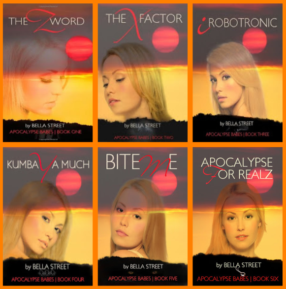 http://www.amazon.com/Apocalypse-Babes-Complete-Bella-Street-ebook/dp/B006OFBP5E/ref=asap_B004XJ6S2I_1_6?s=books&ie=UTF8&qid=1417902317&sr=1-6