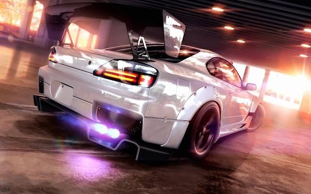 Jeux de voiture - couverture facebook
