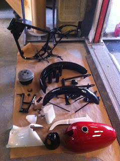 piezas de la Impala en Tallers Rovira