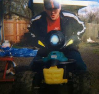 Playschool power wheels quad 4-wheeler adult riding