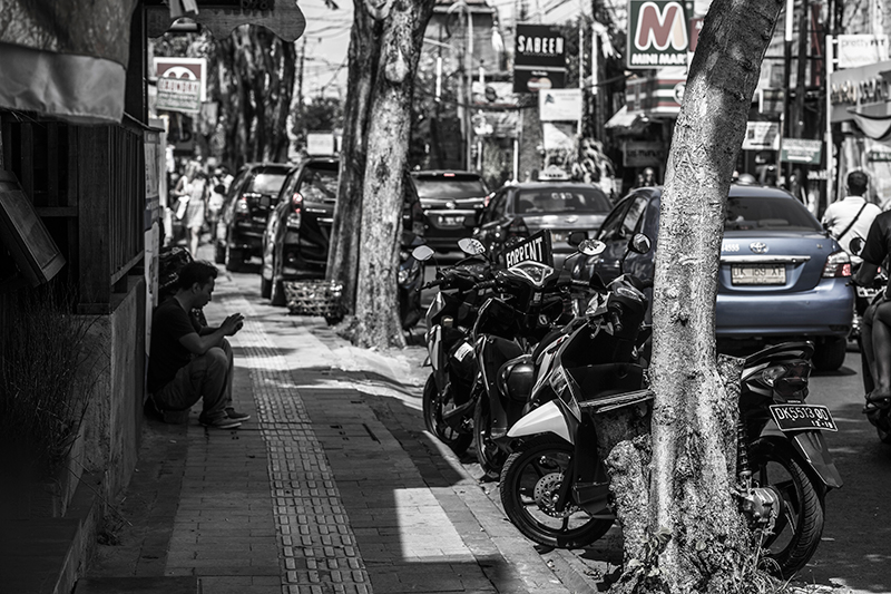 Bali street and life