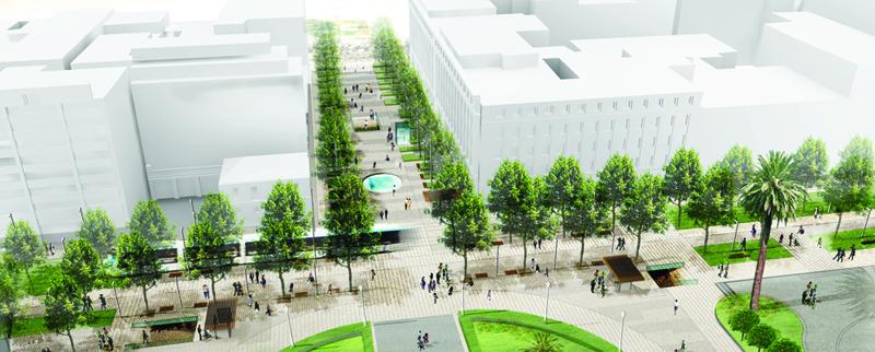Ανάπλαση του κέντρου της Αθήνας-Άξονας Πανεπιστημίου 1st_prize_04_Junction+Korai_Panepistimiou
