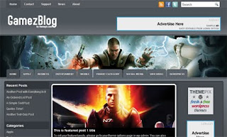 GamezMag WordPress Theme
