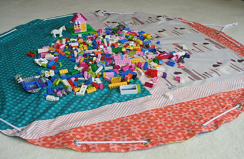 tuto Sac rangement jouet / play mat bag DIY