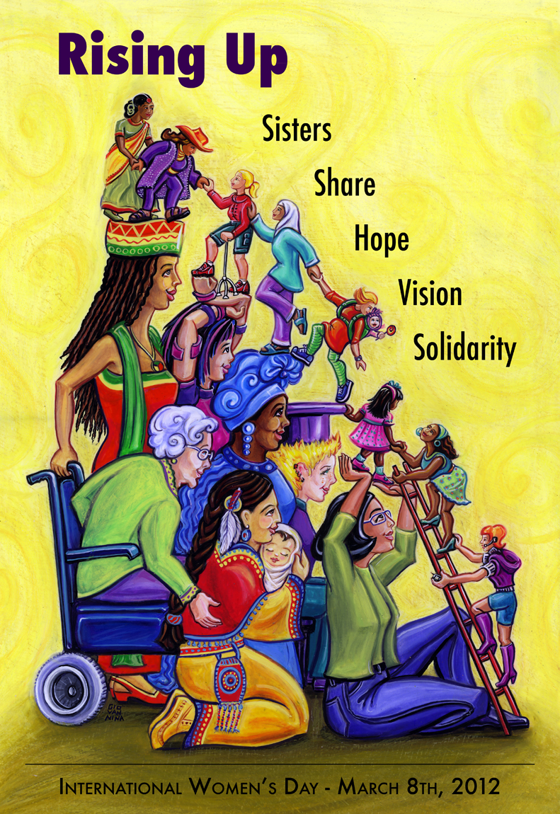 Giovannina Colalillo: International Women's Day Poster for March 8 ...