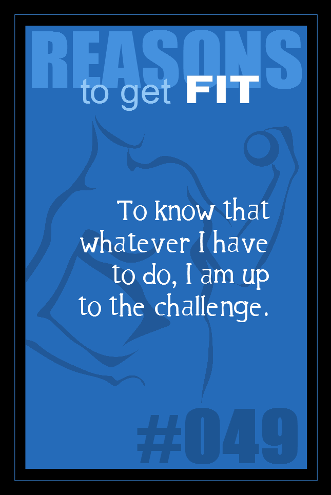 365 Reasons to Get Fit #049