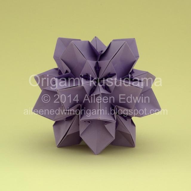 Modular Origami Kusudama