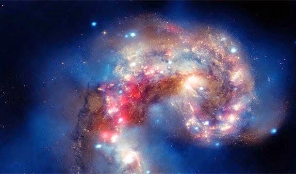 galaxias que chocan
