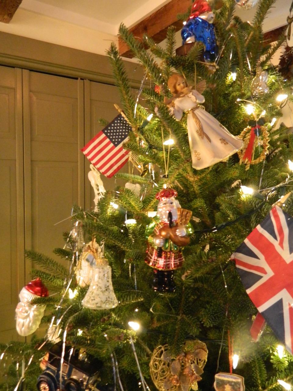 Pam 39 S English Cottage Garden O Christmas Tree