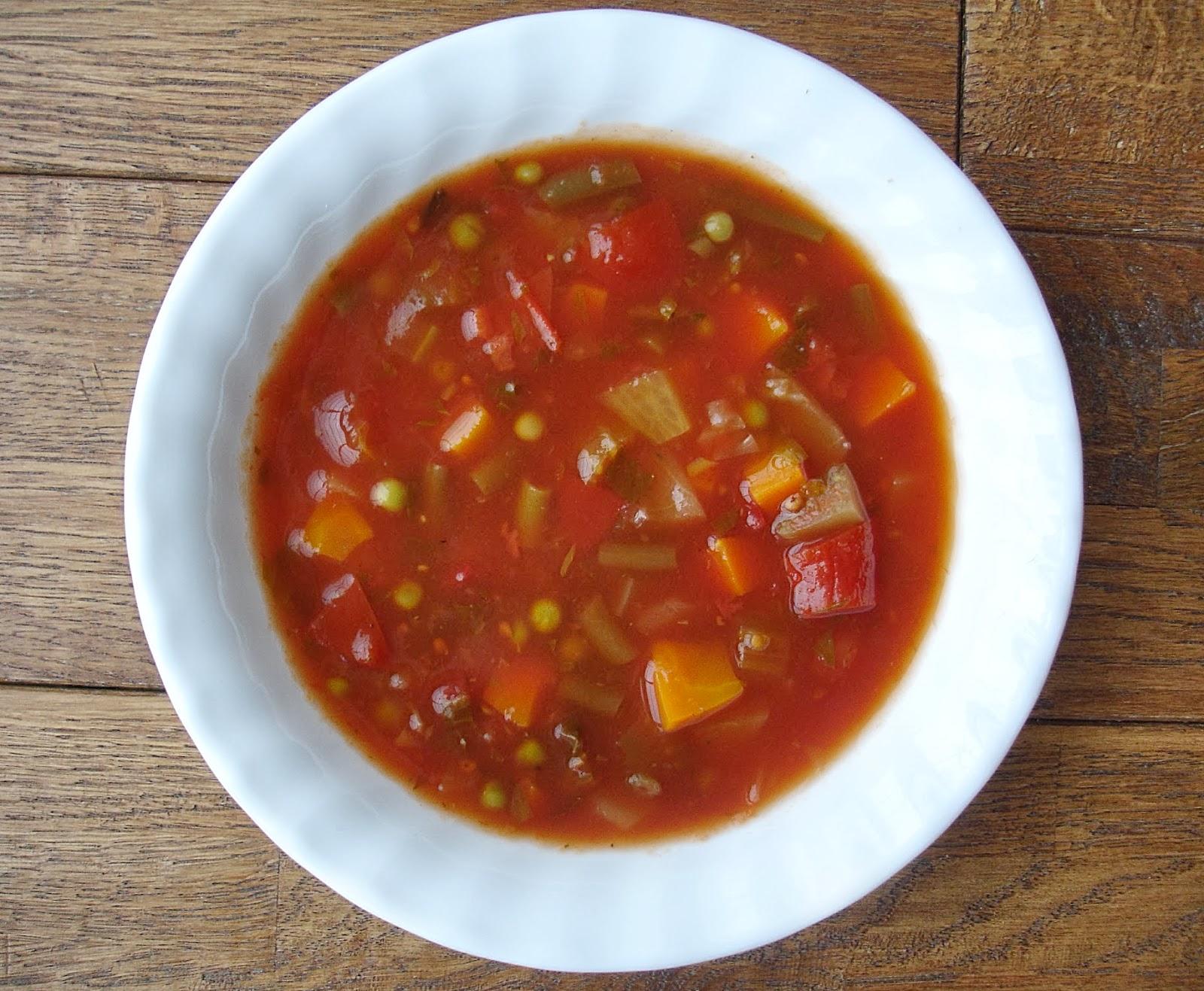 Destination santé: Soupe aux légumes au goût d'autrefois