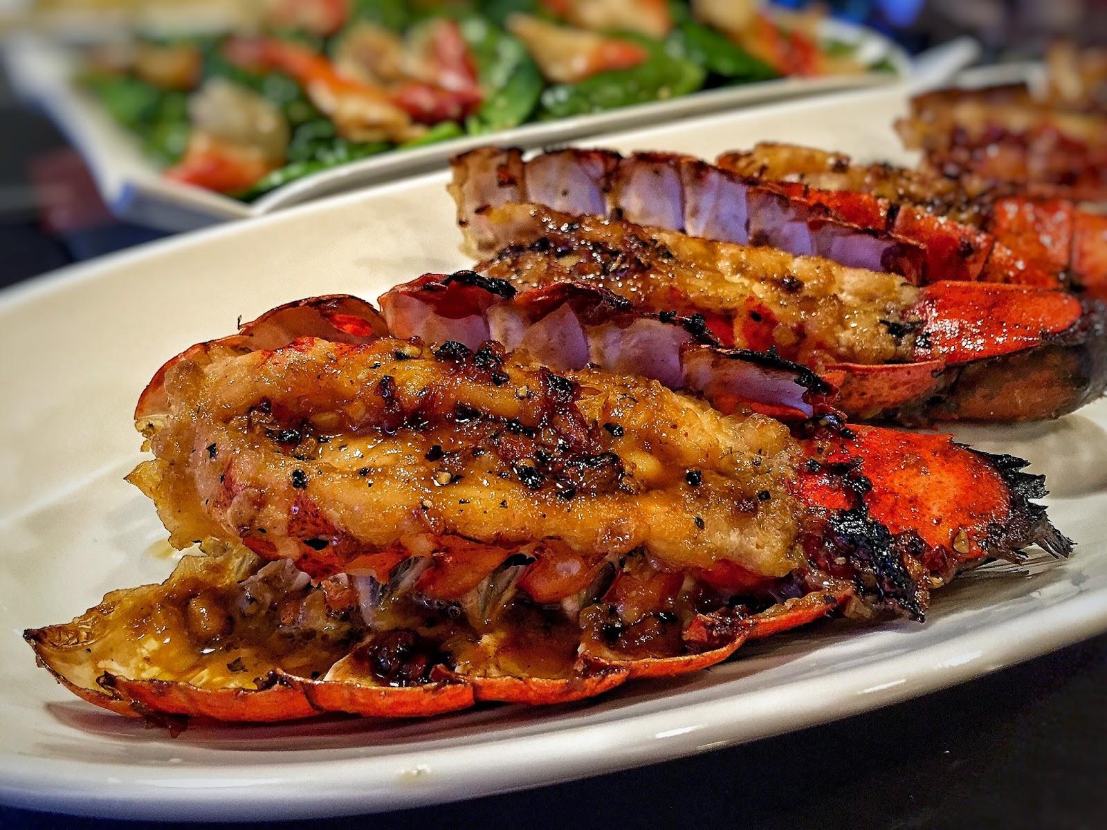 The Spices Of Life . . .: Tôm Hùm Nướng Bơ Tỏi-Roasted Garlic Butter Lobster Tails