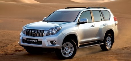 Toyota Land Cruiser Prado 2014 toyota ly thuong kiet