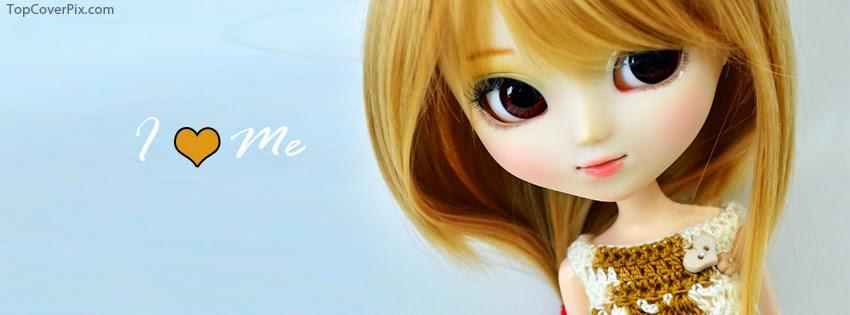 Facebook cover photo of barbie