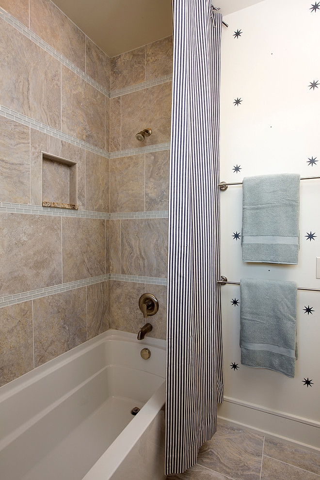 Bathtub in Craftsman style home in Dublin, Ohio