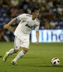 Özil playing for Real Madrid