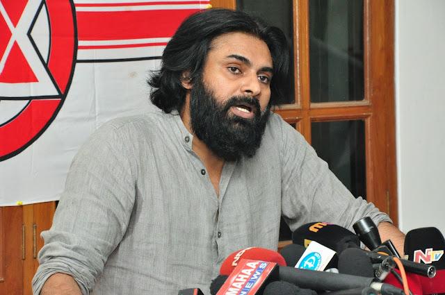 Pawan Kalyan Press Meet HD images