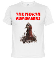 camiseta The north remembers - Juego de Tronos en los siete reinos