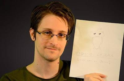 Edward Snowden é um dos refugiados políticos mais famosos do mundo