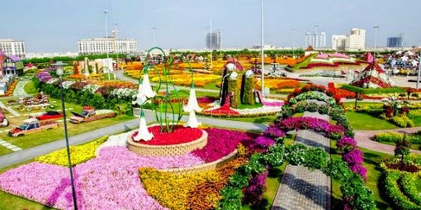 Taman Bungan Dubai Miracle Garden