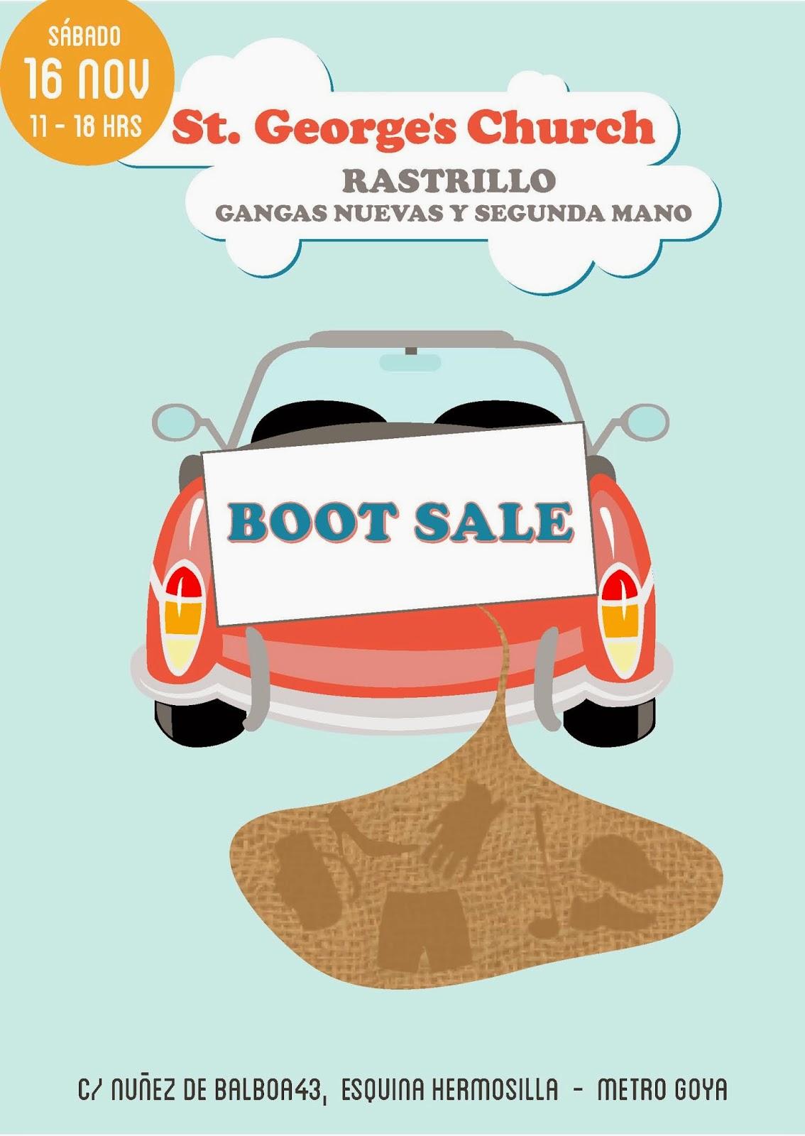 En Madrid Nadie Se Aburre Mercadillo Car Boot Sale En La Iglesia  ~ Mercadillo De Segunda Mano Madrid