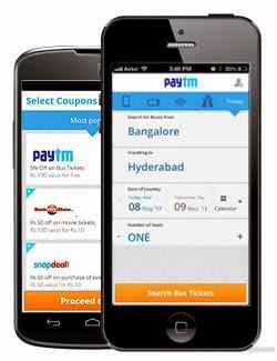 Paytm App Offer for upto Rs. 60 Cash Back on Recharges ( APP60 )