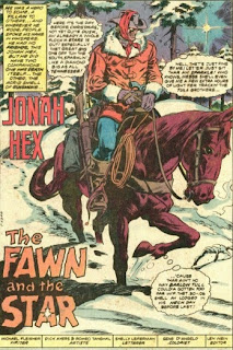 Jonah Hex in The Fawn and the Star from DC Super Star Holiday Special