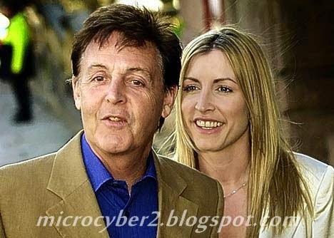 Paul McCartney dan Heather Mills