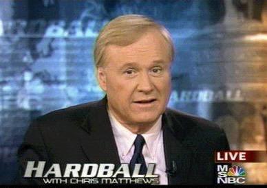 Chris Matthews host of MSNBC's Hardball