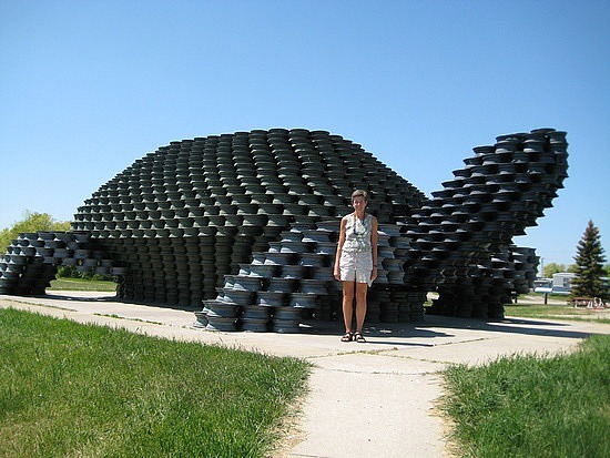 Relaxshacks com  House Built from Tires   Two   and TEN other    Thursday  February
