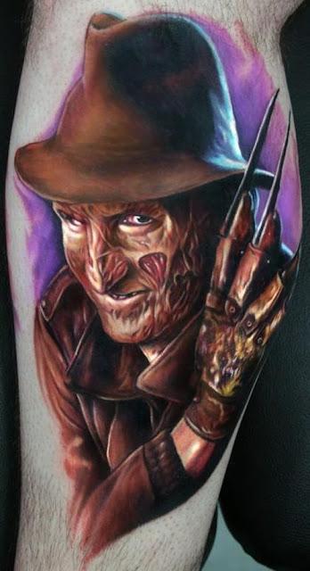 Tatuaje Freddy Krueger
