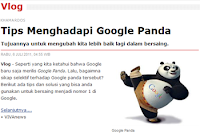Tips Menghadapi Google Panda | Khamardos BLog