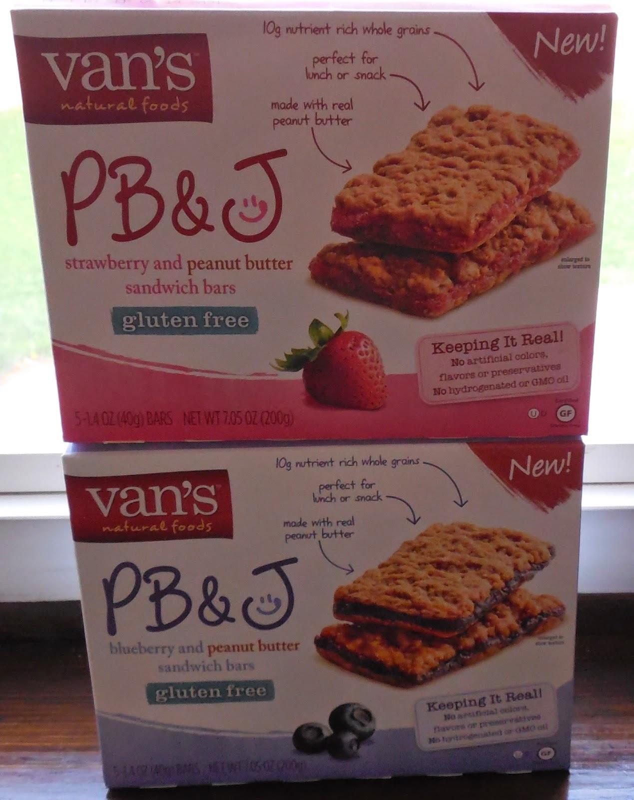 Van's PB&J Bars