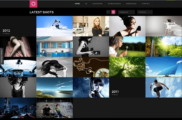 JA Lens Joomla Template Free Download.