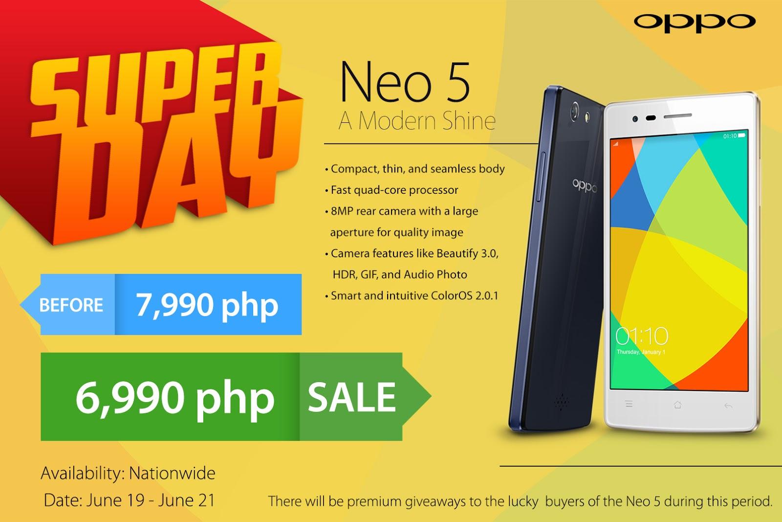OPPO Neo 5 Promo