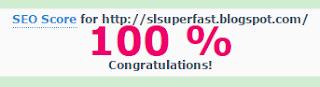 skor seo SL Super Fast - Template Blog Super Cepat Responsive 2015