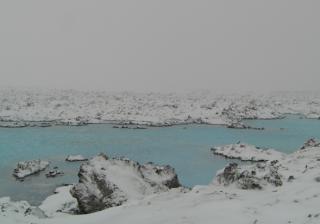 Winter sun or winter wonderland holiday? Iceland blue lagoon