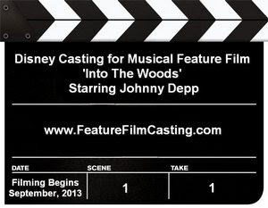 Into The Woods Disney Casting Information