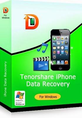 تحميل برنامج استعادة واسترجاع الملفات الصور المحذوفة للايفون tenorshare iphone data recovery