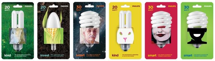Philips energy savers via Thinkverylittle
