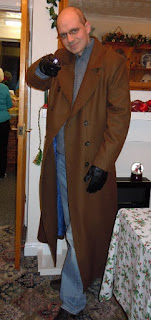 AbbyShot Customer Jamibu in his Tenth Doctor's Coat from Doctor Who