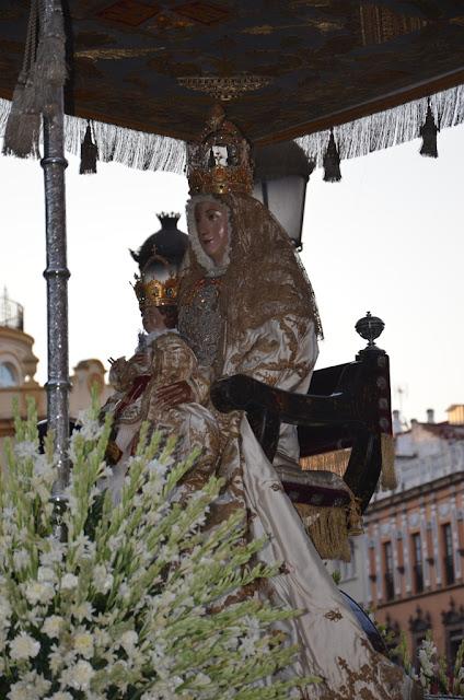 Procesión Virgen de los Reyes