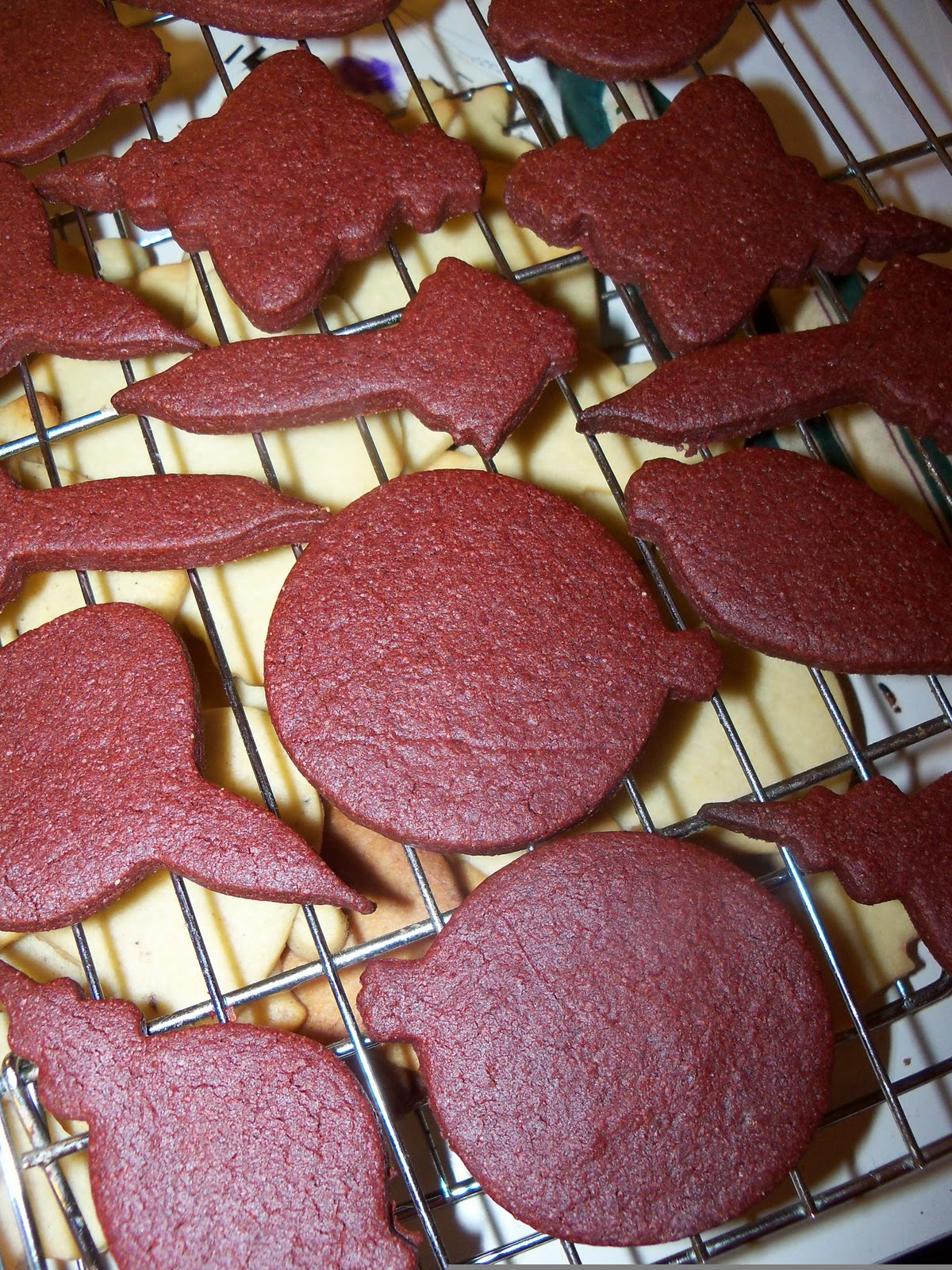 Lunches Fit For A Kid Recipe Red Velvet Sugar Cookies
