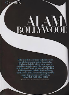 Shahrukh & Gauri Khan on the cover of Malaysia's NONA magazine
